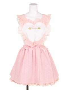 Soft pastel apron dress ~ for more Kawaii clothes follow my 'Princess style fashion aesthetic' board!~ ^-^