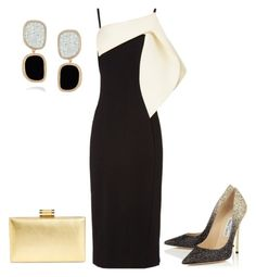 """Gold"" by taniaisabel-1 on Polyvore featuring Antonio Berardi, Ivanka Trump and Roberto Coin"