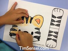 Tiger Puppet Craft use paper bag and popsickle sticks Letter T Activities, Felt Puppets, Puppet Crafts, 5 Year Olds, Big Cats, Cool Kids, Love Story, Sticks, Templates