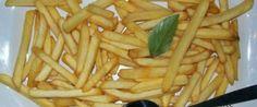 Foto - Receita de Batata frita sequinha e crocante