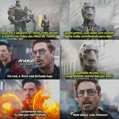 Mano a melhor parte de Guerra Infinita kkkk Marvel Jokes, Avengers Memes, Disney Marvel, Marvel Dc Comics, Marvel Avengers, Univers Marvel, Stan Lee, Dc Memes, Funny Memes