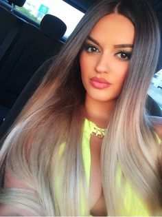 Absolutely gorgeous long ombre hair - perfect