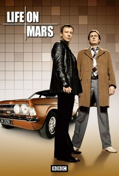 Sam Tyler (John Simm) and Gene Hunt (Philip Glenister), Life On Mars, 2006-7.