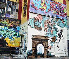 5Pointz - A warehouse turned artist studios, draped in brilliant graffiti