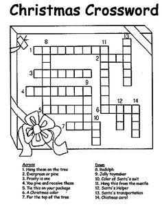 graphic regarding Holiday Crossword Puzzles Printable identify Cost-free Printable Xmas Crossword Puzzles Merry Xmas
