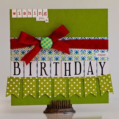 Homeade Birthday Cards