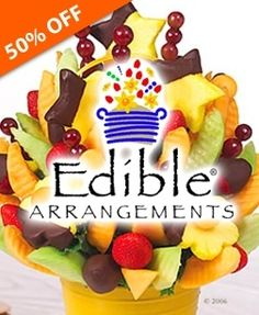 Check out this deal from TownWild.com - $10 for $20 to Spend on Fresh Fruit Bouquets and Chocolate-Dipped Fruit - ONE DAY ONLY SALE! at Edible Arrangements - Boyson Rd