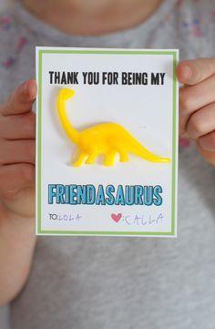 Dinosaur valentine f