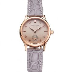 Replica Patek Philippe Watches Swiss Movement - Replica Magic Patek Philippe Calatrava, Luxury Watch Brands, Classic Collection, Sport Watches, Stainless Steel Case, Rose Gold Plates, Crocodile, Rolex, Two By Two