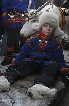 Sami boy, Jokkmokk\'s market, Swedish Lapland | | Lapland's Image Bank, pictures from Lapland's culture, musik, Sapmi, IceHotel