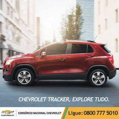 Novos restaurantes, galerias de arte, teatros e até mesmo amigos: explore e descubra o melhor da cidade com o Chevrolet #Tracker. www.consorciodeauto.com.br