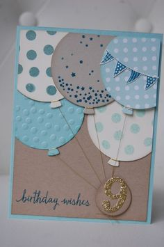 Un anniversaire en double - Marie-Claude Chollet - Photo Bday Cards, Kids Birthday Cards, Handmade Birthday Cards, Birthday Wishes, Baby Scrapbook, Scrapbook Cards, Karten Diy, Cricut Cards, Card Making Inspiration