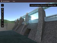 Pohled na těleso hráze vodní elektrárny Štěchovice (3D model) Tower Bridge, Travel, Model, Viajes, Scale Model, Trips, Pattern, Traveling