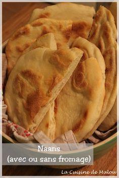 Naans : les pains levés indiens (avec ou sans fromage)