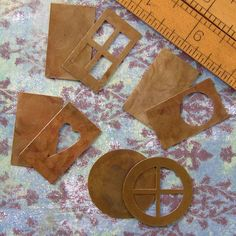 Variety Pack of Four Sets of Brass Cutout Blanks  by etherealgirls, $12.00