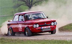 Drift Prinz NSU TT - Hessen Rallye Vogelsberg - Historische Fahrzeuge - Slowly Sideways