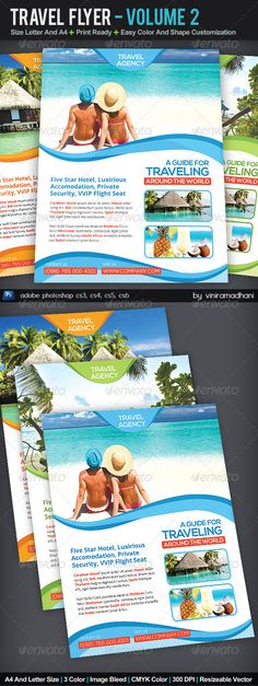 15 Travel Brochure Examples With Enticing Designs Travel - vacation brochure template