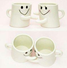 Hug Mugs....how cute!!!!