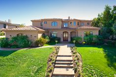 When you enter this home you are immediately drawn to the spectacular picture window that showcases the amazing view of the Grand Del Mar golf course. This magnificent home is on one of the premier lots within this 134 custom Home Site at the exclusive Meadows Del Mar Community.