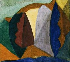 Arthur Dove may be considered the first American abstract painter. Arthur Dove used a wide range of media, sometimes in unconventional combinations to produce his abstractions and his abstract landscapes. Abstract Painters, Abstract Landscape, Landscape Paintings, Abstract Art, Arthur Dove, Collage Techniques, Painting Collage, Cool Landscapes, Old Master