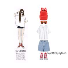 Rap Monster ideal girl fashion