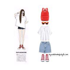 Rap Monster ideal girl fashion