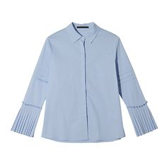 Pleated Cuff Shirt | STYLENANDA