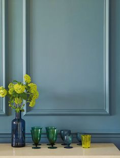 Natural Heritage Paint Colours From Eco-Friendly Paint Specialists Edward Bulmer. Blue Rooms, Blue Walls, Best Paint Brand, Blue Home Offices, Eco Friendly Paint, Interior Decorating, Interior Design, Decorating Tips, Paint Brands