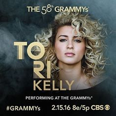 Tune in to the 58th #GRAMMYs on @cbstv Feb. 15 for a performance from Best New Artist nominee @torikelly!