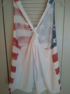 DIY flag shirt!