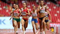 Melissa Bishop breaks Canadian 800m record at track world championships Mark had stood since 2001