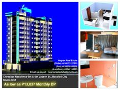 Cityscape Residences offers condominium units located mainly at 5th & 6th Lcason St., Bacolod City  http://negrosrealestate.com/