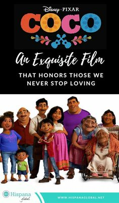 Pixar really created something amazing here! The movie, is a must see family It illustrates the beautiful meaning of Day of The Dead, a heartfelt festivity that celebrates departed loved ones. You will fall in love New Movies, Disney Movies, Disney Pixar, Good Movies, Disney Stuff, Disney Planning, Disney Tips, Abc Family, Disney Family