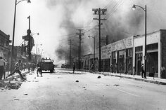 1965 watts riots Los Angeles My grandfathers hardware store was burned down.