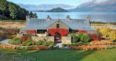 Blanket Bay Lodge New Zealand