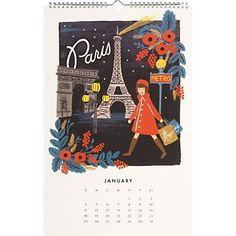 2015 Rifle Travel The World Calendar.  Frame for walls of DeLuca Grandbaby room!