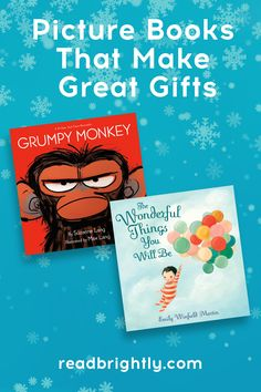 Full of entertaining characters, inspiring themes, and charming illustrations, these gifts will keep on giving with hours of shared reading experience.