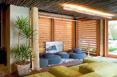 iluminação de coberta de madeira - Pesquisa Google