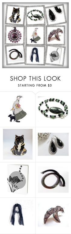 """The Dark Side"" by whimzingers ❤ liked on Polyvore featuring vintage"