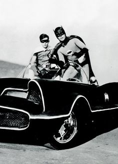 "Original Batmobile. ""Atomic batteries to power. Turbines to speed."""