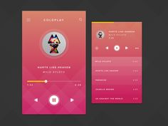 Dribbble - Music Player by Disky Chairiandy