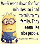 Everyone loves these minions. We have of the best minion quotes that are super funny. Minion Humour, Funny Minion Memes, Minions Quotes, Funny Jokes, Minion Sayings, Minions Minions, Evil Minions, Minion Top, Purple Minions