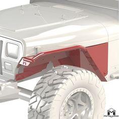 Jeep Wrangler YJ Overline Flat Tube Fenders