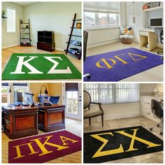 Check out the new #Fraternity Rugs we added to our Greek Licensed collection. http://ow.ly/ScsR5 #KappaSigma #SigmaChi #PhiGam #Pike