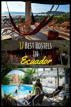 List of the Best Hostels in Ecuador In this article you will find the - best Hostels in Quito; The best hostels in Banos; The best hostels in Guayaquil, Cuenca, Places To Travel, Travel Destinations, Places To Visit, World Trade Center, Ecuador Travel, Equador Quito, Hostels, Phuket, Galapagos Islands