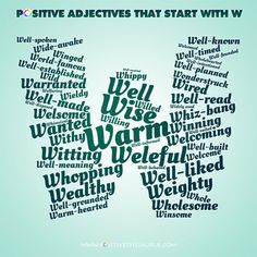 Lovely list of positive adjectives starting with L wordcloud ...