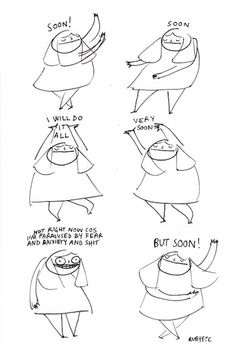 "Depression Anxiety Comics Mental Illness Rubyetc :: Lol this comic is me to a capital ""T"""