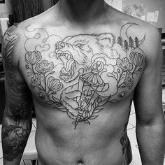 100 Bear Claw Tattoo Designs For Men – Sharp Ink Ideas – Man Style Hand Tattoos, Lotusblume Tattoo, Bear Tattoos, Wild Tattoo, Body Art Tattoos, Small Tattoos, Sleeve Tattoos, Cool Tattoos, Mandala Tattoo