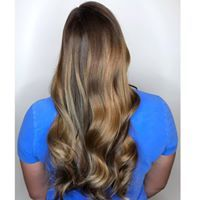Soft Waves for that natural beach wave look #salonedenofraleigh This look was created by Rae at Salon Eden of Raleigh !
