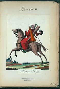 Tatar (NYPL > The Vinkhuijzen collection of military uniforms > Russia. > Russia, 1806 [part 1])